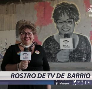 [VIDEO] Rostro de TV de barrio