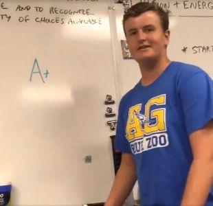 [VIDEO] El curioso examen de español en una escuela de EEUU que causó furor en redes