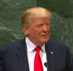 [VIDEO] Trump saca risas en discurso de la ONU
