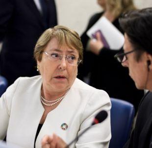 Bachelet respeta decisión de 6 países de llevar caso de Venezuela a Corte Penal Internacional