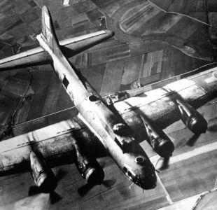 El daño de las bombas de la Segunda Guerra Mundial en la atmósfera de la Tierra