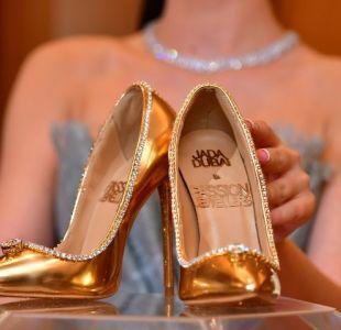 [FOTOS] Dubái pone en venta un par de zapatos de 17 millones de dólares