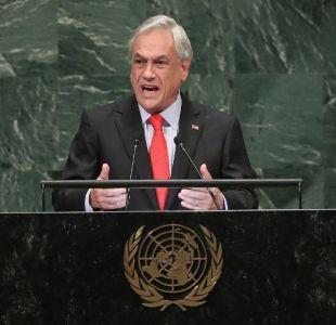 [VIDEO] Piñera arremete contra Maduro en Asamblea de la ONU y lo trata de insensible