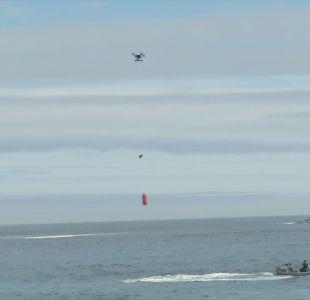 Dron salvavidas de Zapallar