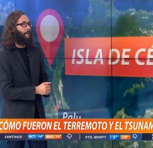 [VIDEO] Marcelo Lagos explica cómo fue el terremoto y tsunami de Indonesia