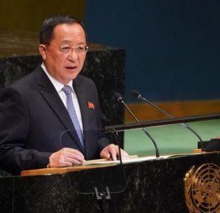 Corea del Norte ante la ONU: No hay forma de que nos desarmemos sin muestras de confianza de EE.UU