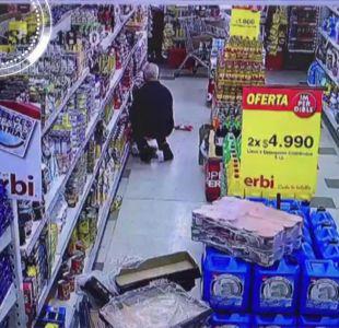 [VIDEO] Asalto terminó con delincuente muerto en la comuna de Cerrillos