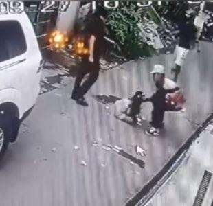 [VIDEO] Filipinas: niña de 8 años se enfrentó a ladrones armados para defender a sus padres