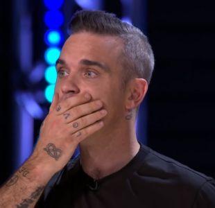 """La dura caída de un participante de """"The X Factor"""" que asustó a Robbie Williams"""