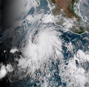 Tormenta tropical Rosa se aproxima a estado mexicano de Baja California