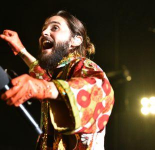 Un místico Jared Leto comandó el tibio regreso de 30 Seconds to Mars a Chile