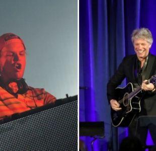 Bon Jovi reconoció haber trabajado en una canción con Avicii