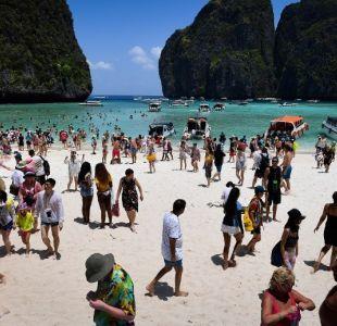Cierran indefinidamente la playa que se hizo famosa por la película de Leonardo DiCaprio