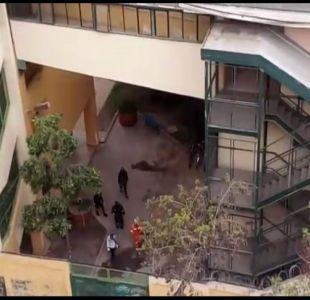 [VIDEO] La crisis de los liceos llegó a sus vecinos
