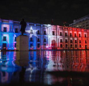 [FOTOS] La Moneda se ilumina para conmemorar los 30 años del Plebiscito
