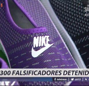 [VIDEO] Operación Temple: 300 falsificadores detenidos