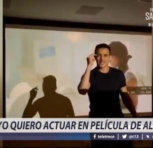 [VIDEO] Yo quiero actuar en la película de Alexis Sánchez