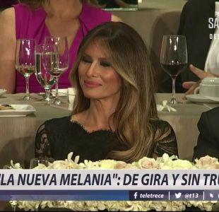 [VIDEO] La nueva Melania: De gira y sin Trump