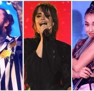 [VIDEO] Camila Cabello, Post Malone y Ariana Grande lideran los MTV EMAs 2018