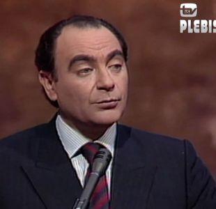 [VIDEO] Cardemil entrega cómputo que confirma triunfo del NO