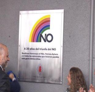 [VIDEO] Con actos separados Gobierno y oposición recordaron los 30 años del No