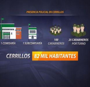 [VIDEO] Piden más carabineros para Cerrillos
