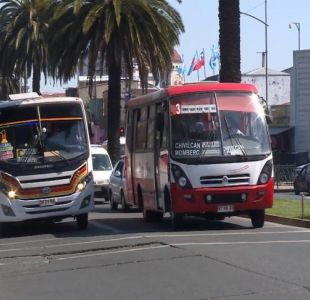 [VIDEO] Investigan colusión de microbuses