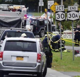 Limusina protagoniza accidente de tránsito y deja 20 fallecidos en Nueva York