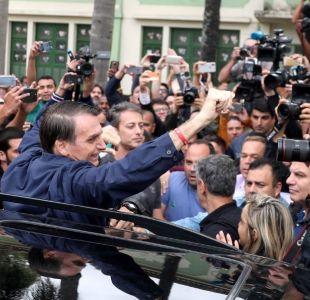 [Minuto a Minuto] Bolsonaro lidera las elecciones en Brasil y pasa a segunda vuelta contra Haddad