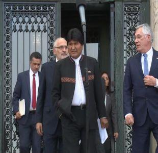 [VIDEO] Sebastián Piñera a Evo Morales: Hay que saber perder