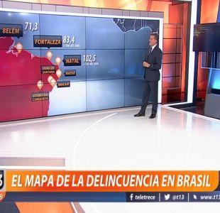 [VIDEO] El mapa de la delincuencia en Brasil