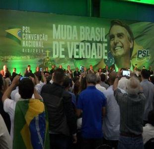 [VIDEO] ¿Quiénes apoyan a Jair Bolsonaro en Chile?