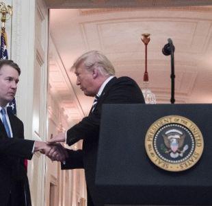Trump dice que EEUU le debe una disculpa a Kavanaugh tras batalla por la Corte Suprema