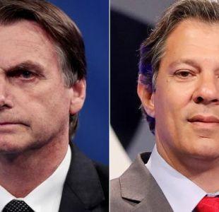 Bolsonaro y Haddad niegan intenciones de llegar al poder por la fuerza