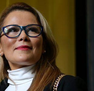 """Cathy Barriga dice estar """"desilusionada del sistema"""" tras sanción de Contraloría por Kiki Challenge"""