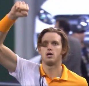 [VIDEO] Para disfrutarlo una vez más: Con este punto Nicolás Jarry venció a Cilic en Shanghái