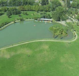 Laguna Parque Padre Hurtado