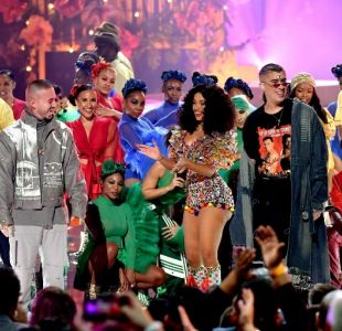 [VIDEO] La fiesta de Cardi B, Bad Bunny y J Balvin en los American Music Awards 2018