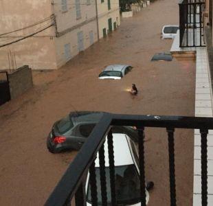 Fuertes inundaciones en Mallorca dejan 10 muertos y un niño desaparecido