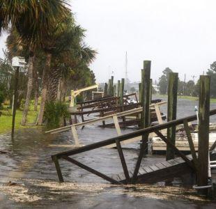 [FOTOS Y VIDEOS] Las primeras imágenes del paso del potente huracán Michael en las costas de Florida