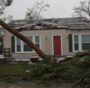 Huracán Michael golpea Florida: las imágenes de la devastación de la peor tormenta en tres décadas