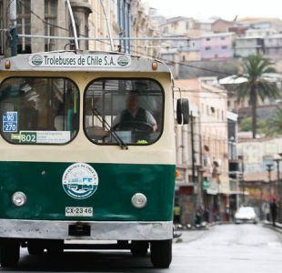 Trolebuses de Valparaíso dejarían de funcionar a fin de año