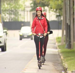 [VIDEO] Scooters compartidos llegan a Chile