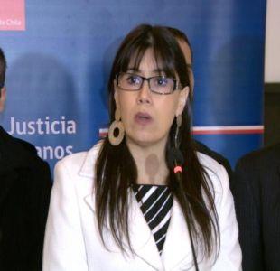 [VIDEO] Javiera Blanco renuncia al Consejo de Defensa del Estado