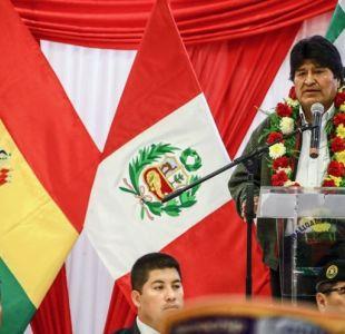 """Evo Morales es declarado """"huésped ilustre"""" en puerto peruano del llo"""