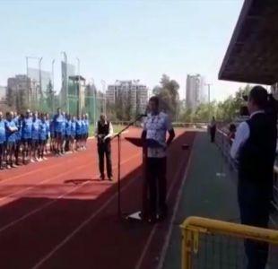 [VIDEO] Polémico homenaje a Miguel Krassnoff