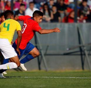 Selección chilena Sub 20 vuelve a empatar con Brasil en amistoso jugado en Santa Laura