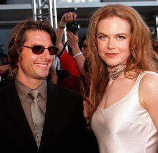 Nicole Kidman admite que matrimonio con Tom Cruise la salvó del acoso sexual