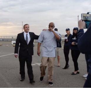 [VIDEO] EEUU: Liberan a hombre que estuvo 20 años preso siendo inocente