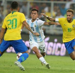 Brasil vence en la agonía a Argentina en el Superclásico sudamericano
